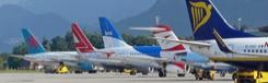 Met het vliegtuig naar Salzburg